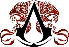Logo Assassin's Creed - Ilustração on /// Ankle tattoo? I think yes.
