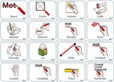 French Teaching Resources, Teaching French, Organization And Management, Classroom Management, French Lessons, English Lessons, Basic French Words, French Worksheets, French Education