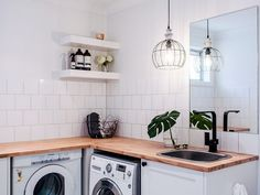 Just because it& a practical space doesn't mean it should be forgotten. Lana Taylor from Three Birds Renovations shares tips on how to revamp a laundry.