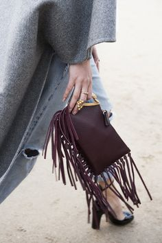 We officially have a fringed accessory obsession