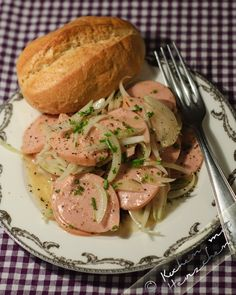 Kochen mit Herzchen - ♥ Mein Koch-Tagebuch mit viel Herz ♥: Bayrischer Wurstsalat