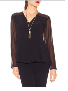 This is a great blouse! Works for day and night #Doncaster