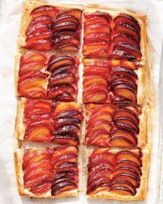 Striped Plum Tart Recipe