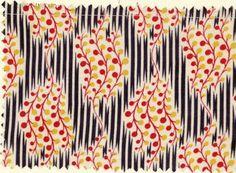 Vintage 'david and dash' print (via Print & Pattern) #DavidAndDash #textile #1960s