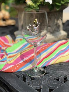 Queens' Jewels Mermaid Wine Glass by Cork Pops Queens Jewels, Cork, Wine Glass, Nautical, Mermaid, Gift Ideas, Glasses, Tableware, Gifts