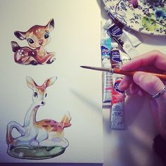 Watercolour Illustrations - Holly Exley Illustrator: Six Tips for Illustration Graduates PART ONE
