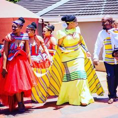 south africa bride  Antherline couture South African Wedding Dress, African Wedding Attire, African Attire, African Wear, African Dress, Venda Traditional Attire, Traditional Wedding Attire, Traditional Fashion, Traditional Weddings