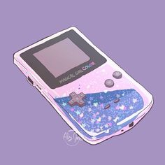What better way to practice then with a glitter case / gameboy mashup? Aesthetic Art, Aesthetic Anime, Aesthetic Pictures, Arte Do Kawaii, Kawaii Art, Kawaii Wallpaper, Cartoon Wallpaper, Aesthetic Pastel Wallpaper, Aesthetic Wallpapers