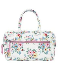 Cath Kidston Quilted Wash Bag With Handles