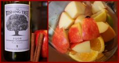 Honeycrisp Apple Sangria. fall drinks