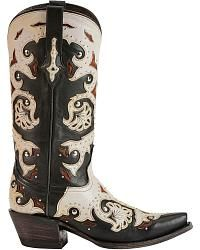 Lucchese Handcrafted 1883 Studded Scarlette Cowgirl Boots - Snip Toe - Sheplers