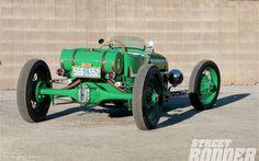 1926 Ford Model T Roadster Rear Three Quarter
