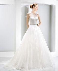 Vestido novia Jesús Peiró Ref.6014