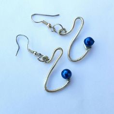 Blue simple handmade earrings. £6-50  https://www.etsy.com/uk/listing/251140467/blue-earrings-blue-jewellery-petite  #simplehandmadejewellery #giftidea #handmade  #jewelry #earrings #jewelryonetsy #blueearrings  #etsy #hypoallergenic #handmadegifts #christmasiscoming #christmasgiftideas #giftsforatenner #giftsformom #secretsantaidea #birthdaygiftidea #earrings #jewelryonetsy #scoliosis #awareness #campaign