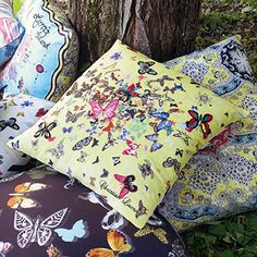 Christian Lacroix Butterfly Parade Safran | Designers Guild USA