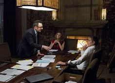 Finch, Zoe and Reese research the jurors.