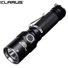 Lampe Torche Klarus ST15 1100Lumens lampe d'intervention ultra puissante Super Bright Flashlight, Holster, Lampe Led, Telescope, Binoculars, Lights, Edc, Life, Light Switches