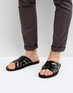d6468208c014 Get this ALDO s leather sandals now! Click for more details. Worldwide  shipping. ALDO