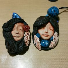 Polymer Clay with Polymer clay faux turquoise