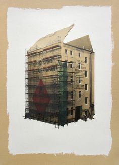 Cardboard house by Evol