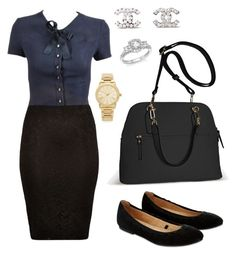 """OhJayTee"" by gicella on Polyvore featuring Chanel, Avenue, River Island, Accessorize, Bloomingdale's and Michael Kors"