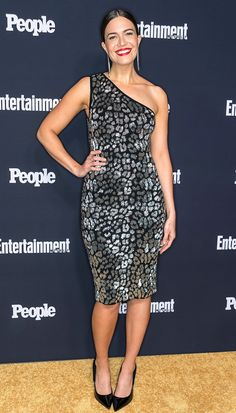 Mandy Moore in Michael Kors Collection attends the Entertainment Weekly and People Upfronts in N.Y.C. #bestdressed