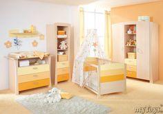 Komplett Kinderzimmer SUNSET, 3- teilig
