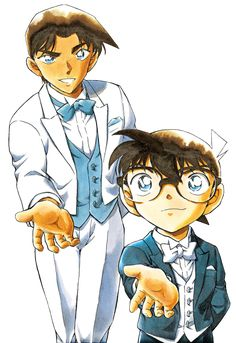Heiji and Conan invte you to a dance. Who will you choose ? ;) Transparent version, free to use for all your transparent needs. Art by Gosho Aoyama Edited by me, Shin Red Dear