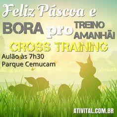 Fala galera!  Devido o feriado e muita gente estar viajando, faremos um único treino amanhã às 7h30. LEVEM os AMIGOS e FAMILIARES. Vamos treinar e confraternizar.   MAIORES INFORMAÇOES:  (11) 97411 9666 www.ATIVITAL.com.br