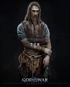 Kratos God Of War, Game Character Design, Character Art, Santa Monica, God Of War Game, Playstation, Scandinavian Tattoo, V Games, Video Games