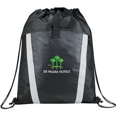 The Vortex Drawstring Backpack  #promotionalproducts #giveaways   #customprinted   #customized  #businessgifts  #branding  #branded