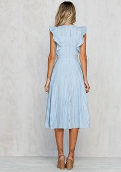(notitle) get dressed Dress Outfits, Casual Dresses, Summer Dresses, Pretty Dresses, Beautiful Dresses, Modest Fashion, Fashion Dresses, Outfit Elegantes, Frack
