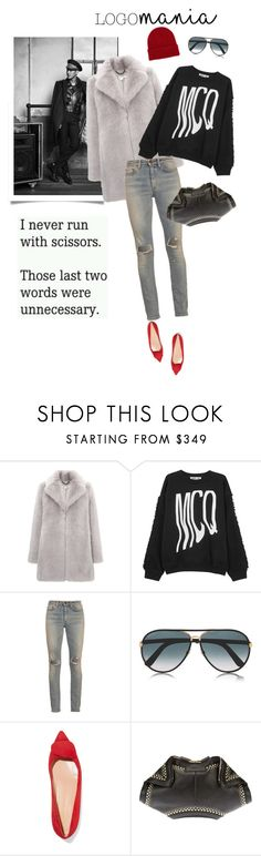 """""""Say my name"""" by iriadna ❤ liked on Polyvore featuring Helianthus, Whistles, McQ by Alexander McQueen, Yves Saint Laurent, Gucci, Rupert Sanderson, Alexander McQueen and NLY Accessories"""