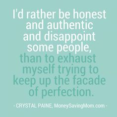 """Authenticity """"My nail-biting habit, shame, and what I'm learning about authenticity"""" - Money Saving Mom®"""