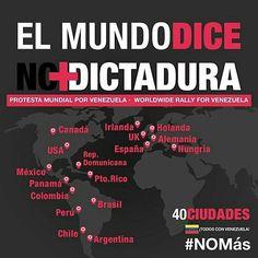 40 ciudades confirmadas. Más información en @sinmordaza.  #misdatos #comunicación #comunicaciones101 #política #RedesSociales #RRSS #SocialMedia #educomunicación #NTIC #opinión #argumentos #bruja #brujareal #venezuela #CosasDeBruja