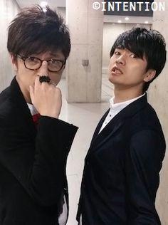 Sakurai Takahiro and Fukuyama Jun 💚💚💚 Takahiro Sakurai, Japanese Boy, He's Beautiful, Voice Actor, Anime Manga, Actors & Actresses, The Voice, Cosplay, My Love