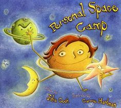Personal Space Camp- book & activity about personal space