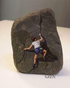 نقاشی روی سنگ رنگ ثابت قابل شستشو قیمت ۳۰۰۰۰ تومان ⚠فروخته شد 09378190702 #stonepainting #نقاشی_روی_سنگ #stoneart #stonepaintingart