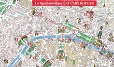 paris top tourist attractions map city sightseeting route planner