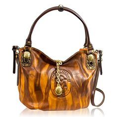 Marino Orlandi Italian Designer Cognac Glazed Leather Purse Large Crossbody Bag for sale Luxury Handbags, Fashion Handbags, Designer Handbags, Leather Purses, Leather Bag, Stella Maccartney, Large Crossbody Bags, Tote Bags, Bago