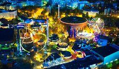 Linnanmäki Carnival of Light. Photo: Linnanmäki