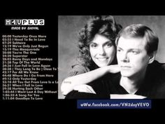 ▶ The Carpenters's Greatest Hits   Best songs of The Carpenters - YouTube