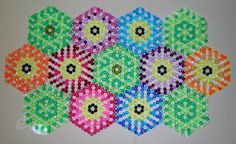 8mm Acrylic Faceted Beaded Table Runner (not recommended for heat). For sale on http://www.etsy.com/shop/KELLBERGS