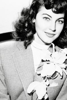 Ava Gardner - a friend of mine says I look like her :)