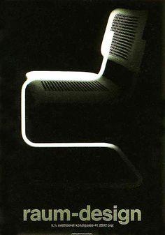 Andreas Netthoevel – Poster for raum-design, 1991