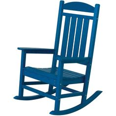 Maybe I'll paint my rocking chair this colour.  I have to be in a brave mood as there is obviously no going back.
