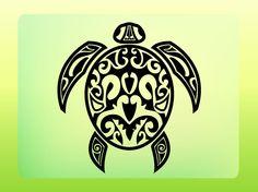 mayan turtle | Cute Turtle Tattoos