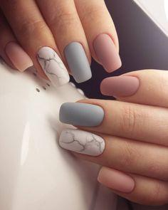 Nail Art Designs, Cute Acrylic Nail Designs, Short Nail Designs, Best Acrylic Nails, Stylish Nails, Trendy Nails, Cute Nails, My Nails, Short Gel Nails