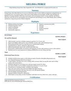 pics photos nanny resume examples downloads sample resumes free resume email address name resume template docx download nanny resume pinterest sample - Free Sample Nanny Resume