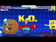 Annoying Orange And SpongeBob SquarePants VS Gengar The Pokemon & Jenny The Robot In A MUGEN Match This video showcases Gameplay of Jenny Wakeman The Robot From The My Life As A Teenage Robot Series And Gengar The Ghost Type And Poison Type Pokemon VS SpongeBob SquarePants And The Annoying Orange In A MUGEN Match / Battle / Fight